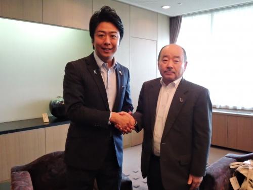 高島市長と瀬尾会長