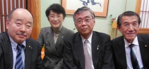 日本薬剤師会会長を囲んで