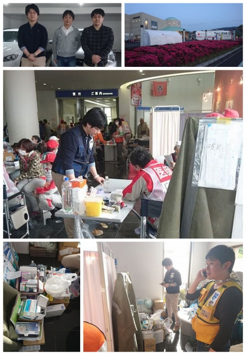 4月17日第1班として出動した吉村理事撮影