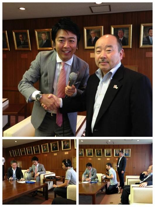6月某日。  当会会長の瀬尾がFM福岡にてキャンペーン期間中にOAされる 2013年版啓発コメントの収録を行いました。